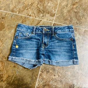 (Girls 7) Lucky Brand Jean Short